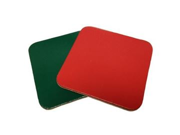 Picture of Square 90mm Leather Coaster