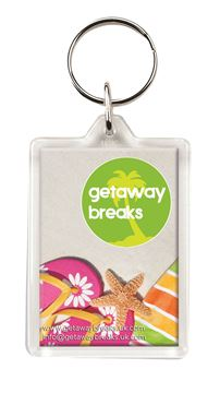 Picture of C1 Clearview Keyring