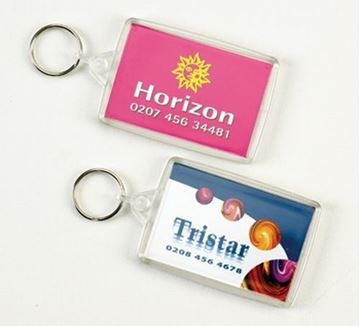 Picture of Ideal Insert Clearview Keyring
